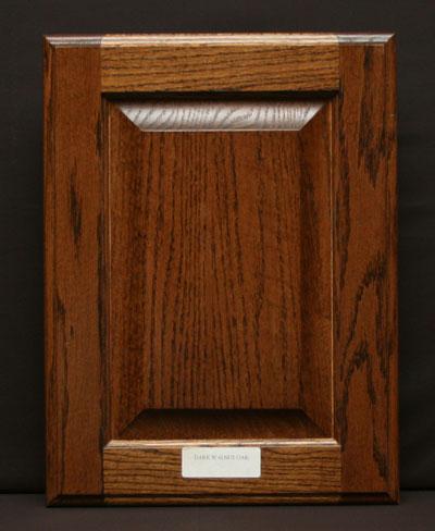 Dark Walnut Oak Standard R P Square Door